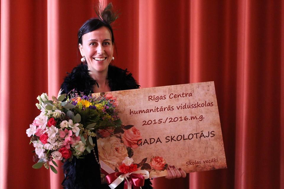 Skolotāja stipendija 2016, Nora Jurjāne